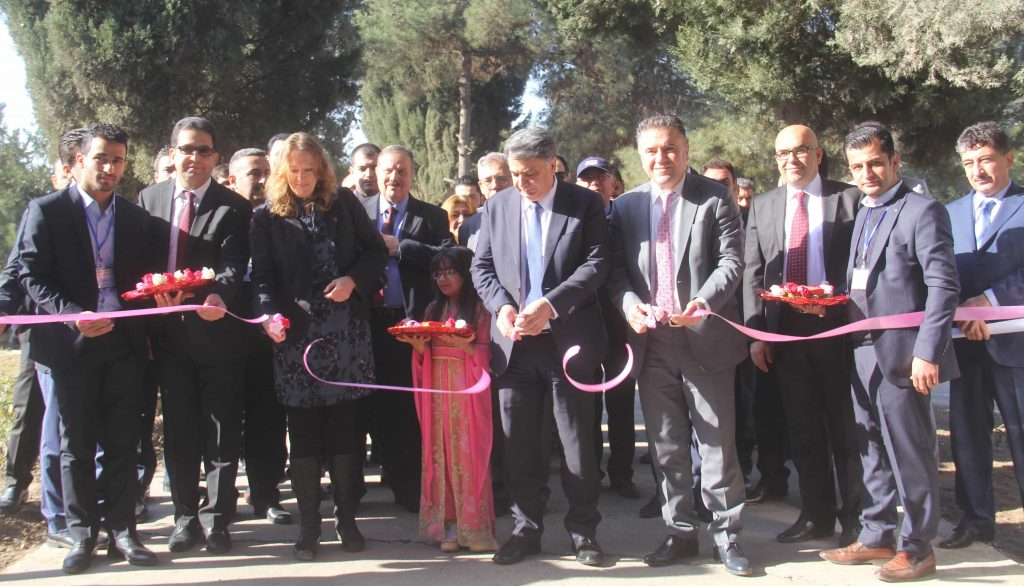 Establishing the first Automotive Department in Kurdistan Region
