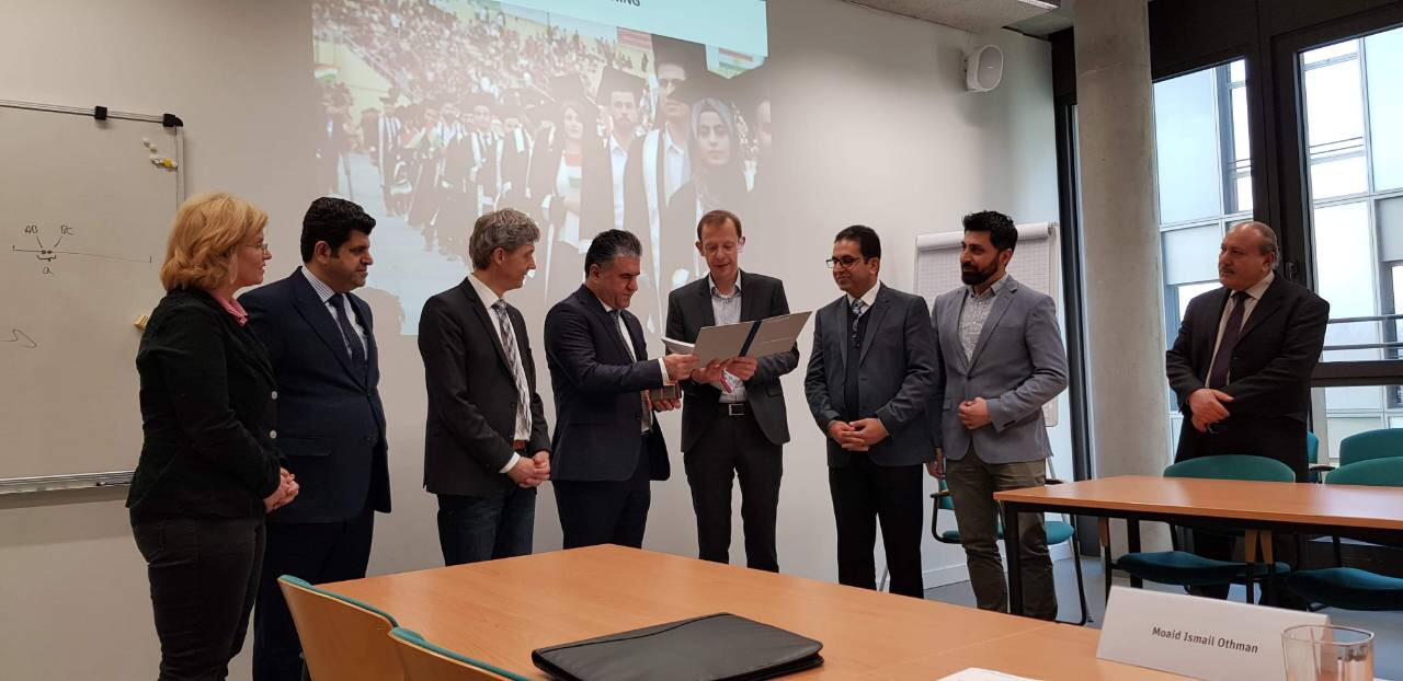 A delegation from EPU visited Bielefeld university in Germany