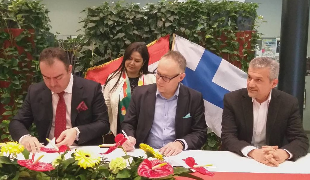 EPU signed a memorandum of understanding with HAMK university