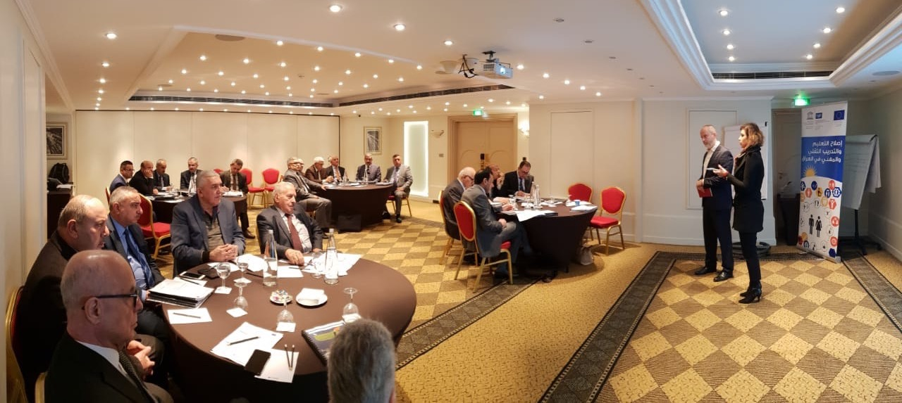 Erbil Polytechnic University participates in a workshop in Lebanon