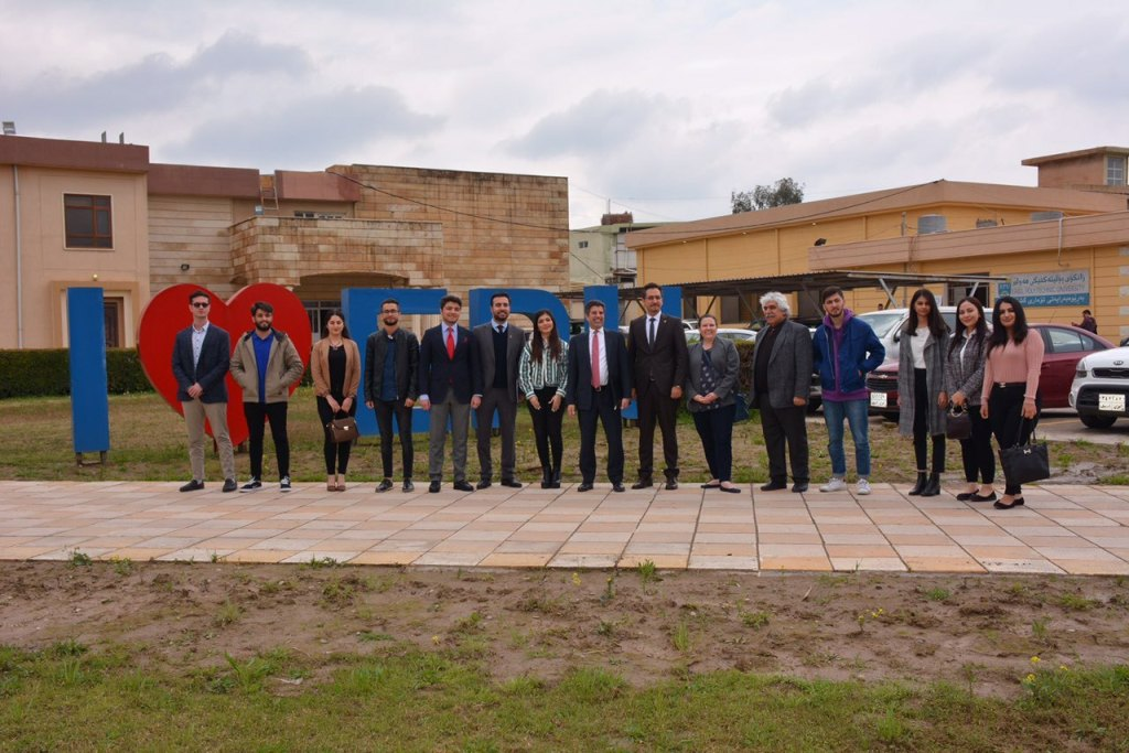 A delegation from US consulate General in Erbil visited EPU