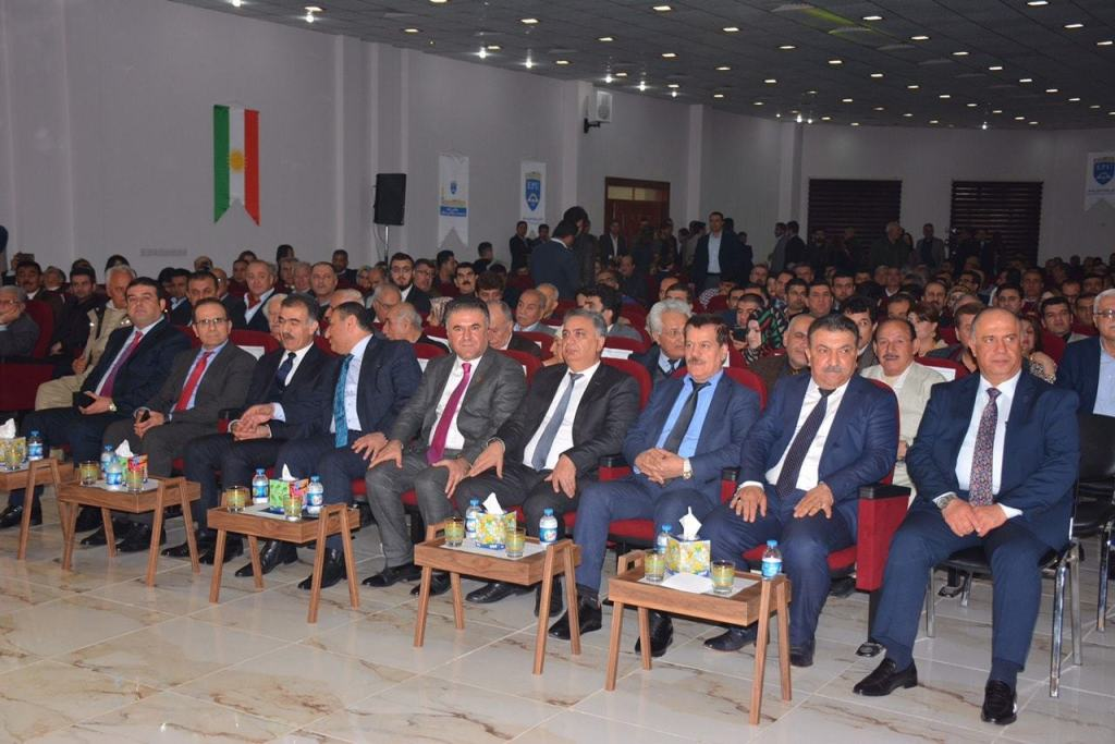 EPU honored famous figures of Erbil