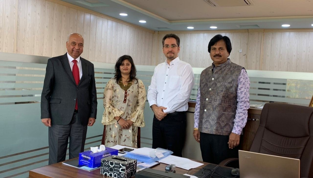 EPU received a delegation from Placewell HRD consultant