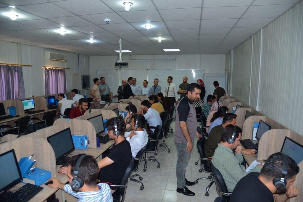 EPU has opened three centers to evaluate English language level