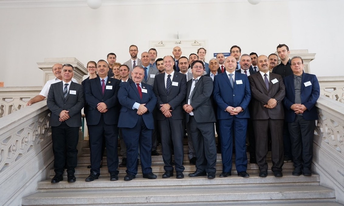 A delegation from EPU participates a workshop in Czech republic