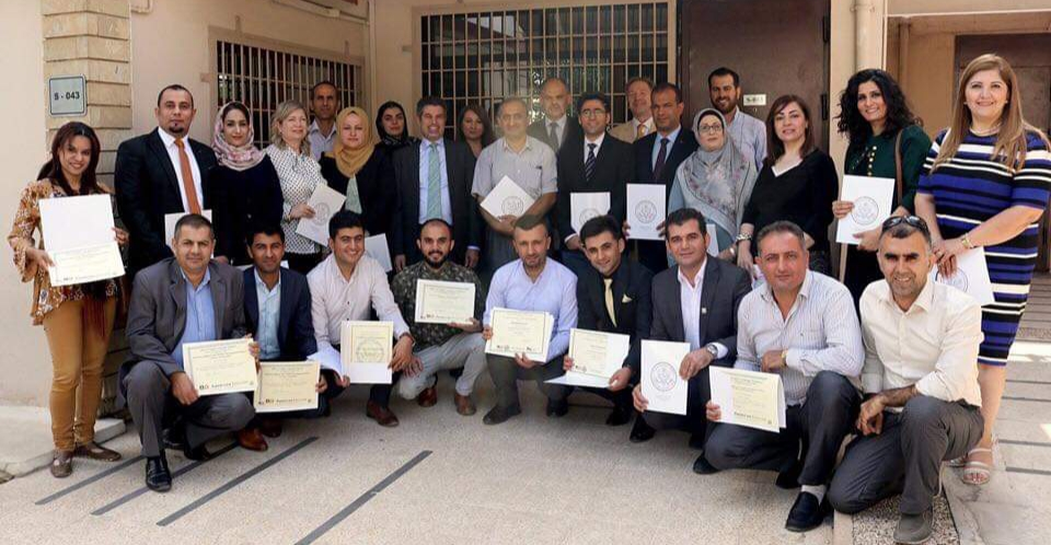 EPU Academic Staff are Hosted by U.S. General Consulate Erbil
