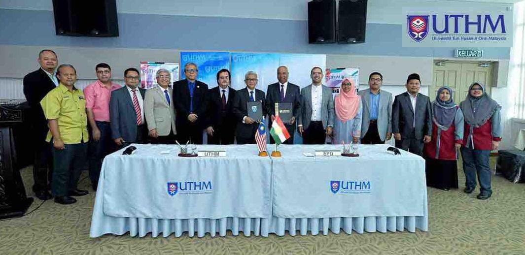A Delegation of Erbil Polytechnic University visiting Universiti Tun Hussein Onn Malaysia (UTHM)