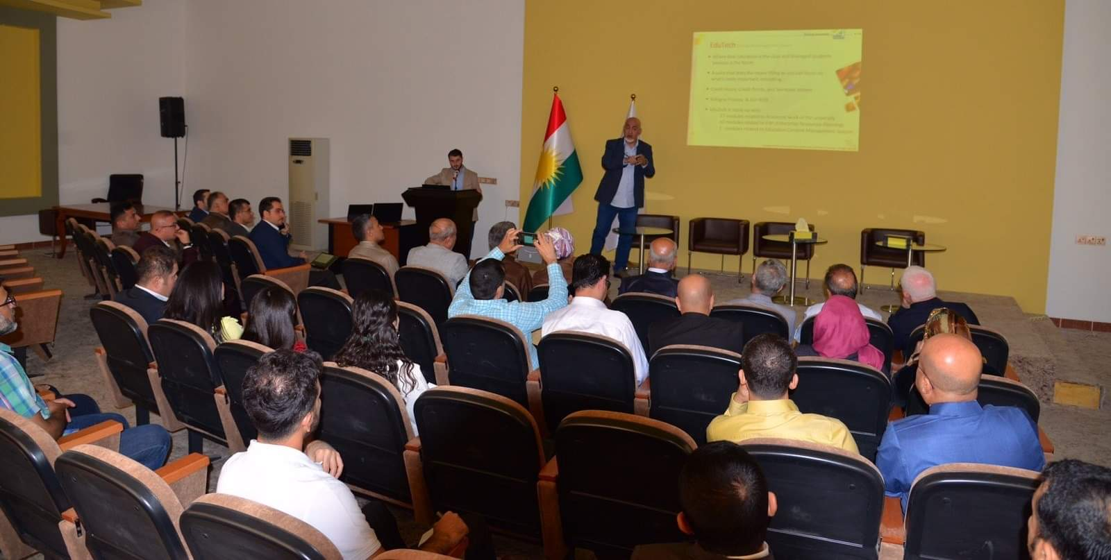In Cooperation with Witty Technology And Automota4 Group, EPU Has Managed A Workshop About Education Management System