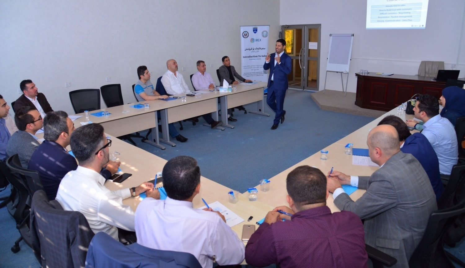 Erbil Polytechnic University in Collaboration with IREX Conducted an Introduction Training for Sales for Faculty Members of All Iraqi Universities