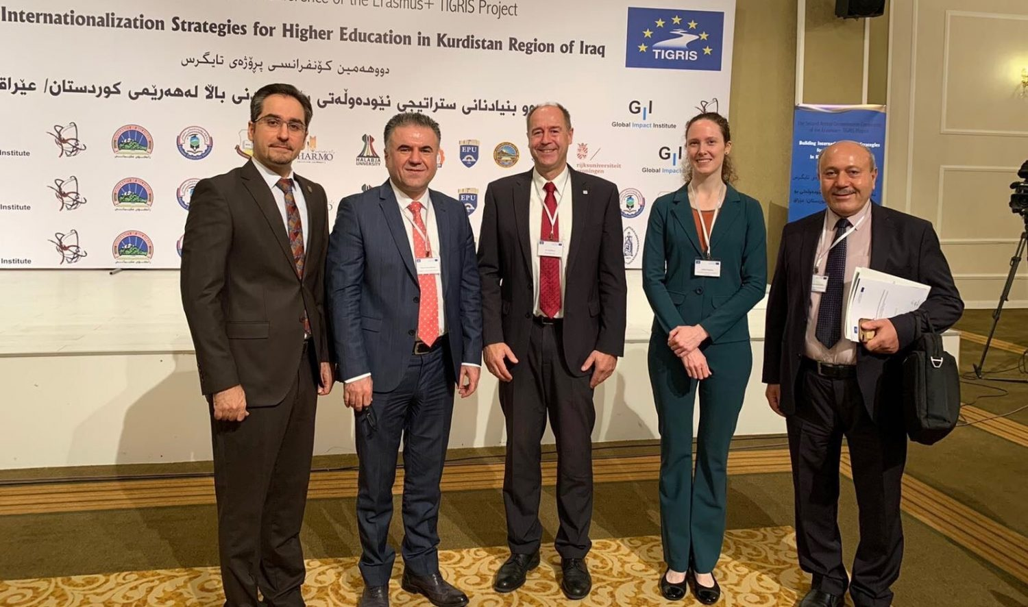 "EPU Attends The Second Annual Conference about ""Building Internationalization Strategies For Higher Education Of Kurdistan Region"""