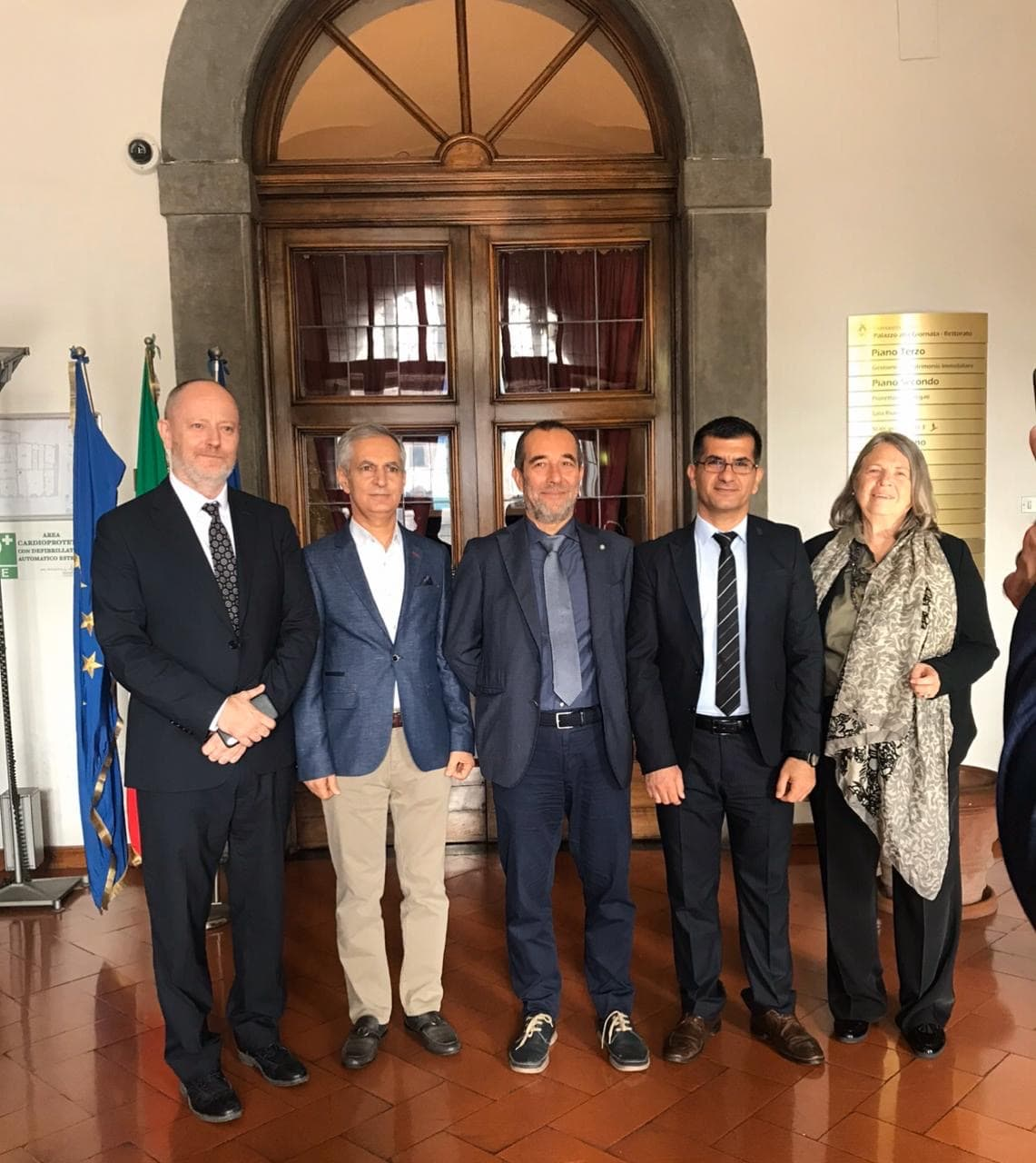 A Delegation Of Erbil Polytechnic University Visiting The University Of Pisa European