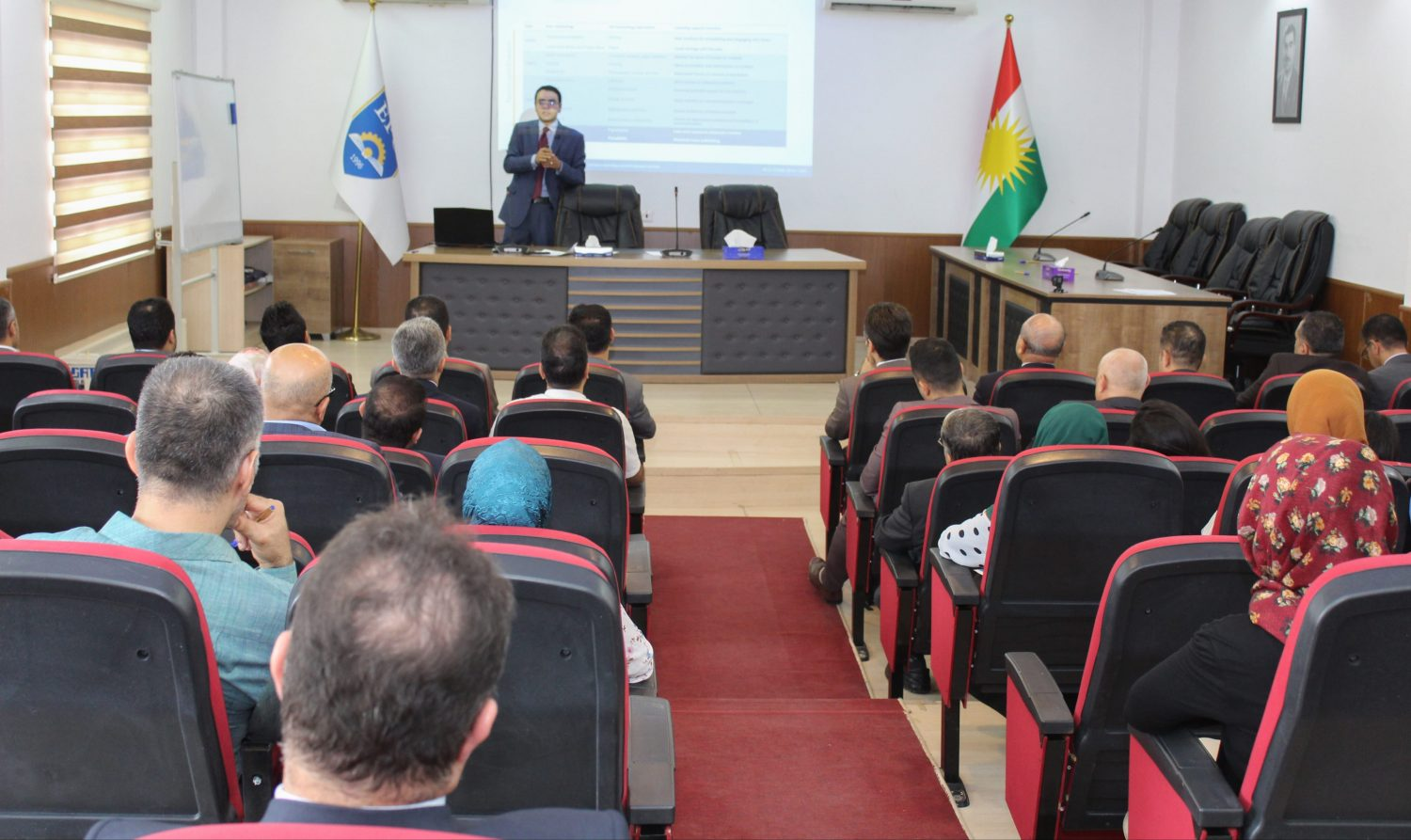 "Two Days Workshop Under the title Of ""Digitalization Of Erbil Polytechnic University"""