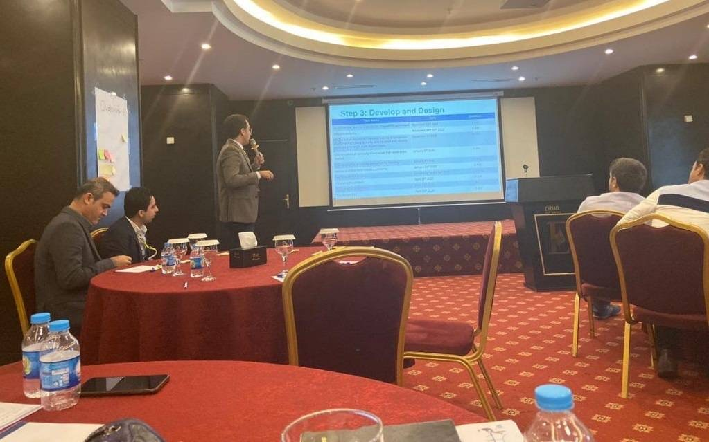 """Erbil Polytechnic University Has Participated In A Training Course About """"Technical And Vocational Institute Training (TVET)"""""""