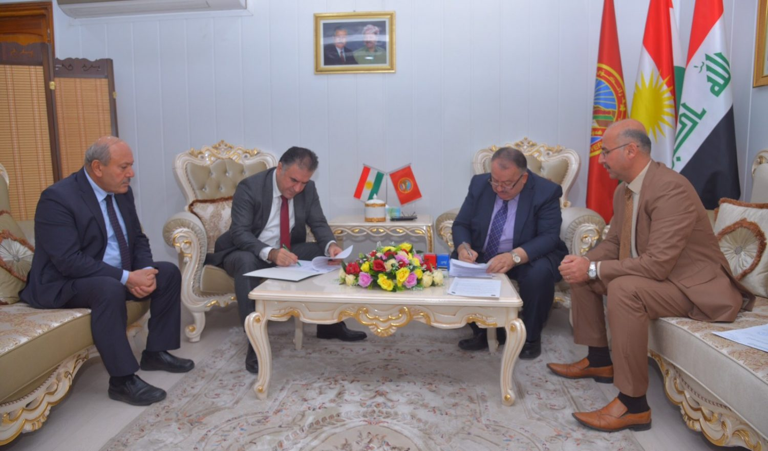 Erbil Polytechnic University And Saladin University Together Will Open Master And PhD Studying Program
