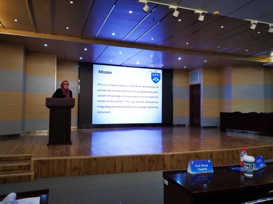 Erbil Polytechnic University Participates In N.E.W.S 16th International Annual Conference in China