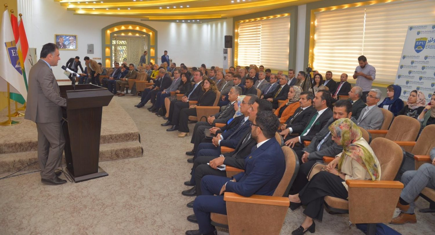 The Presidency of Erbil Polytechnic University Has Honored Several Academic Staff Of The University