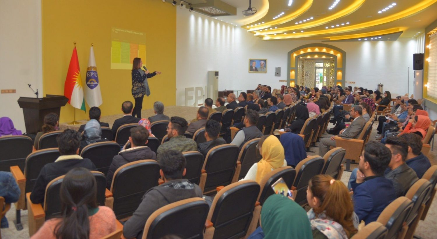 Erbil Polytechnic University Supervised A Seminar Delivered By Some British Language Specialists