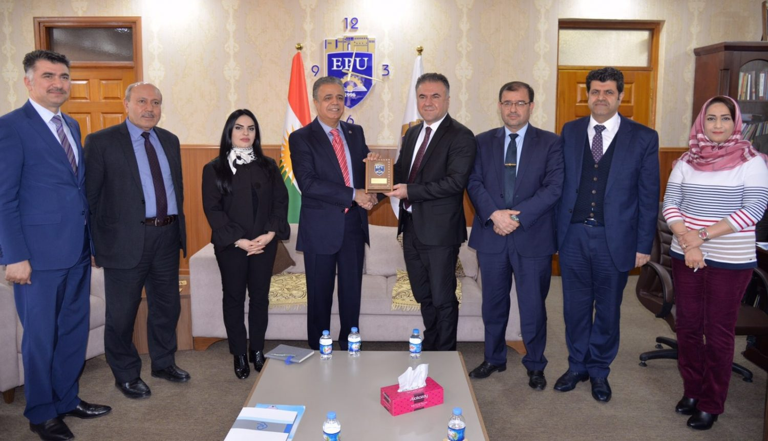The Presidency of Erbil Polytechnic University received the Head of International Universities Council of Turkey