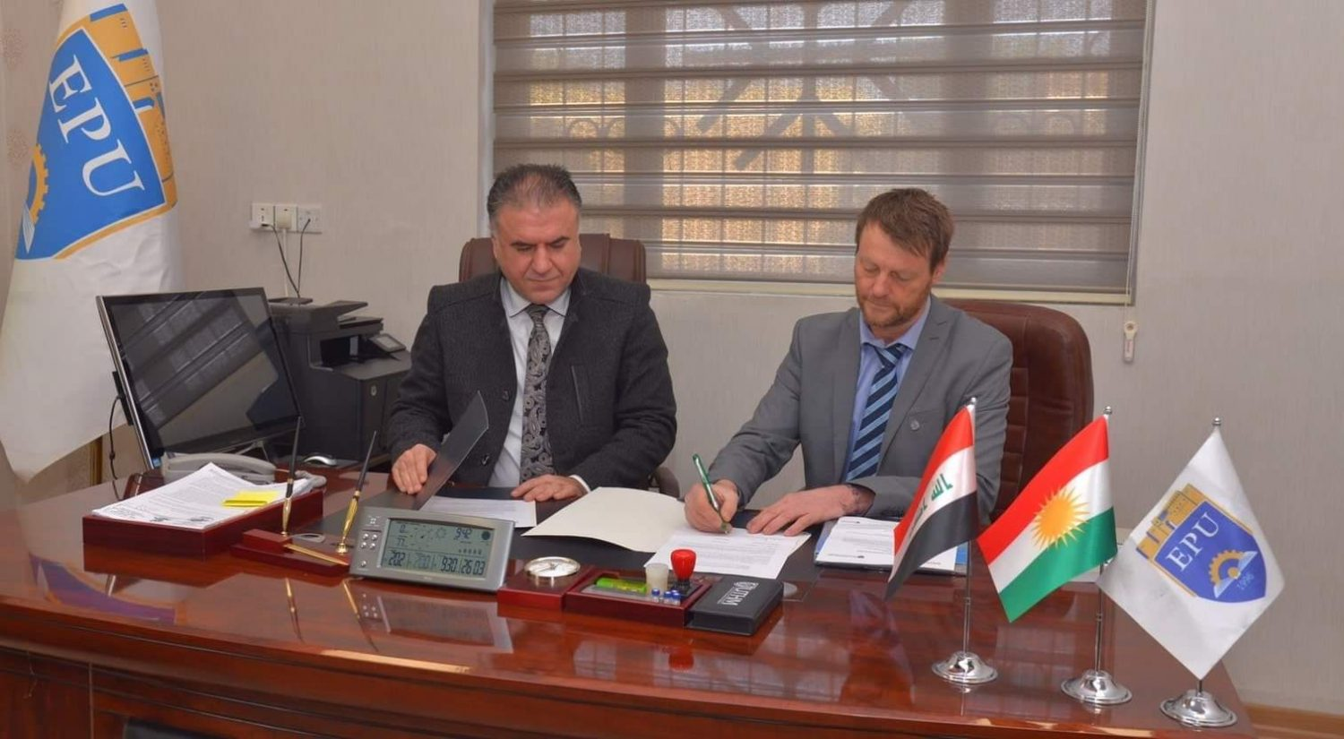Erbil Polytechnic University and European Academic in Italy Signed a Memorandum of Understanding