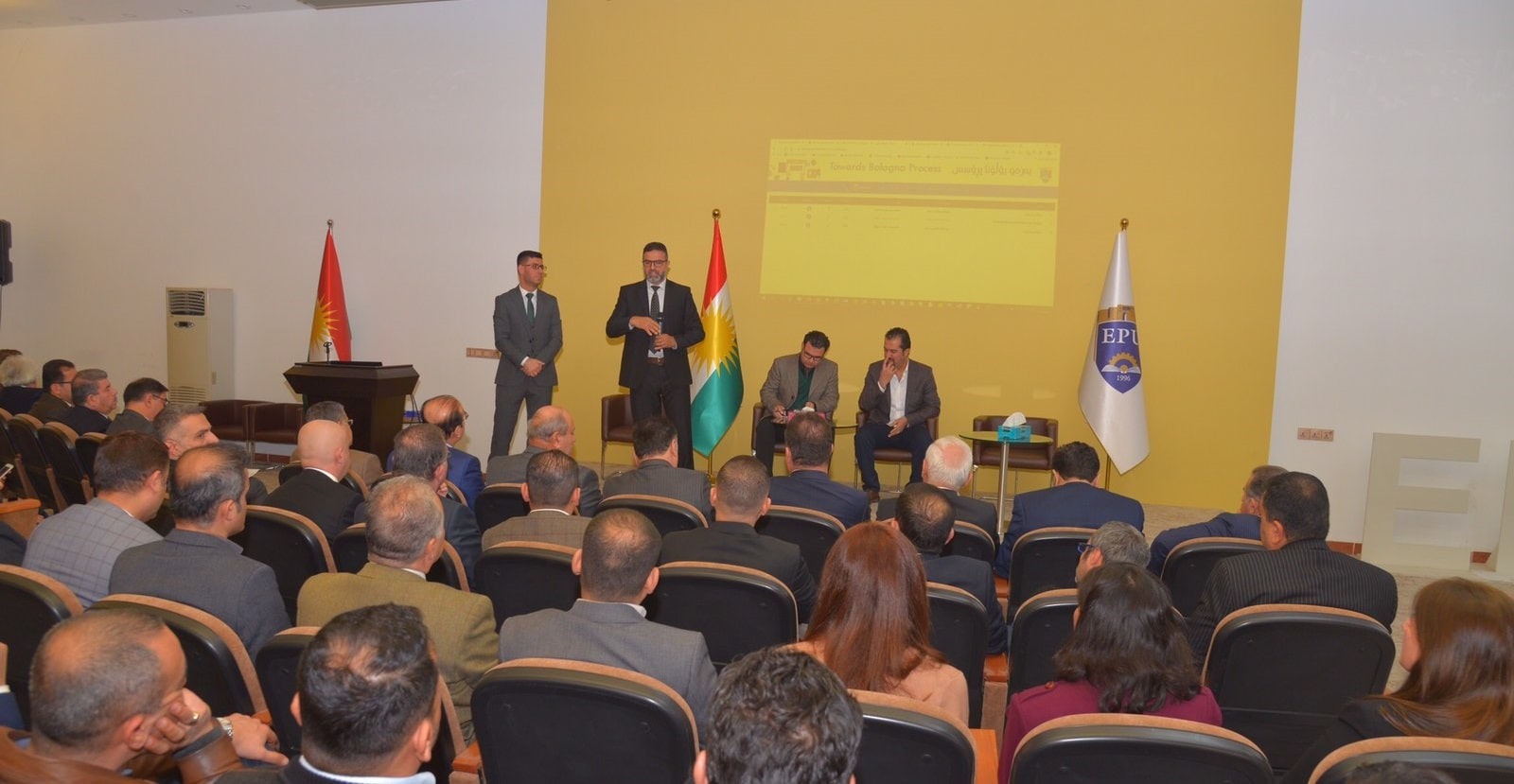 Erbil Polytechnic University Activates Bologna Process System On Its Website