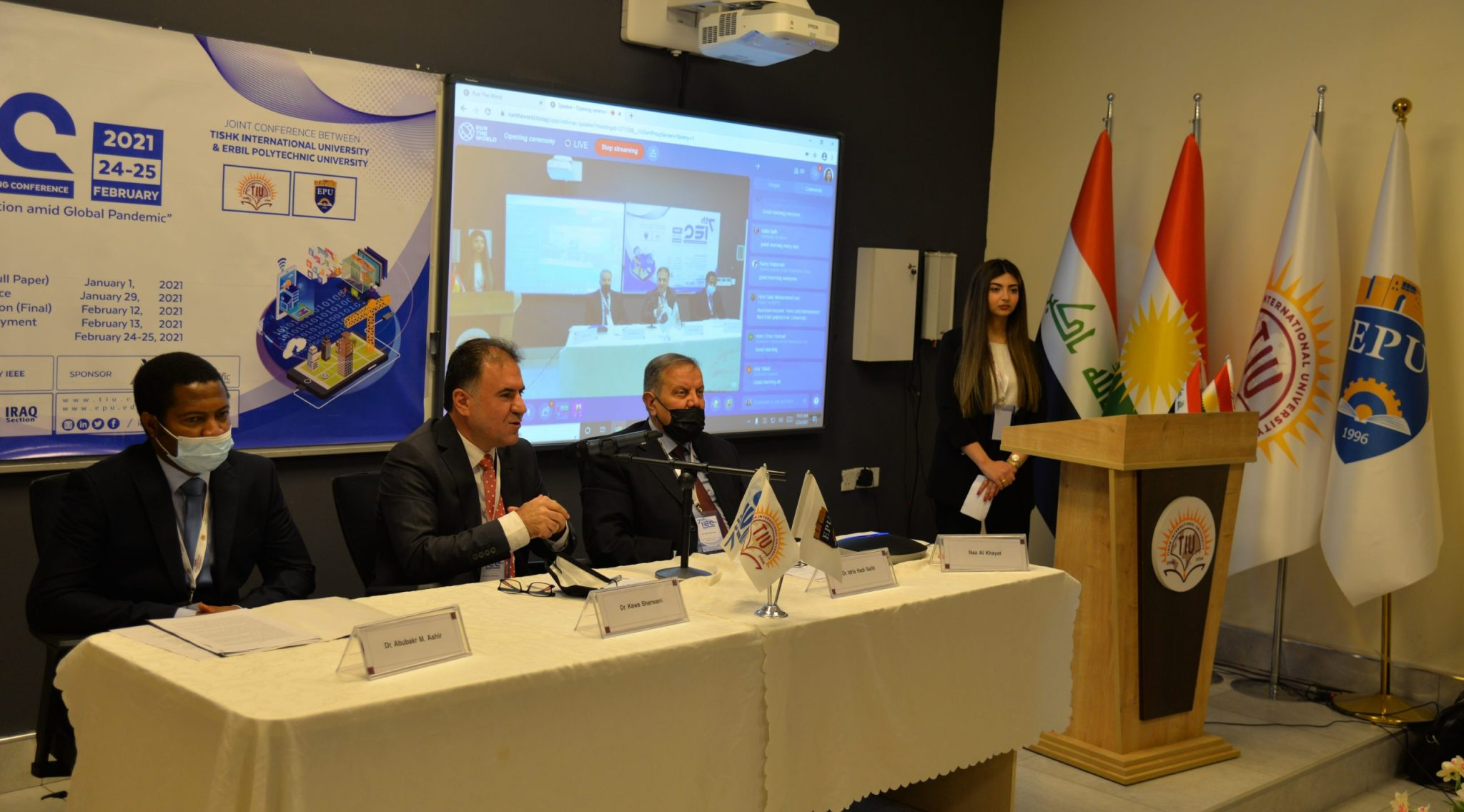 7th International Conference Has Been Held Between Erbil Polytechnic University And TISHK International University