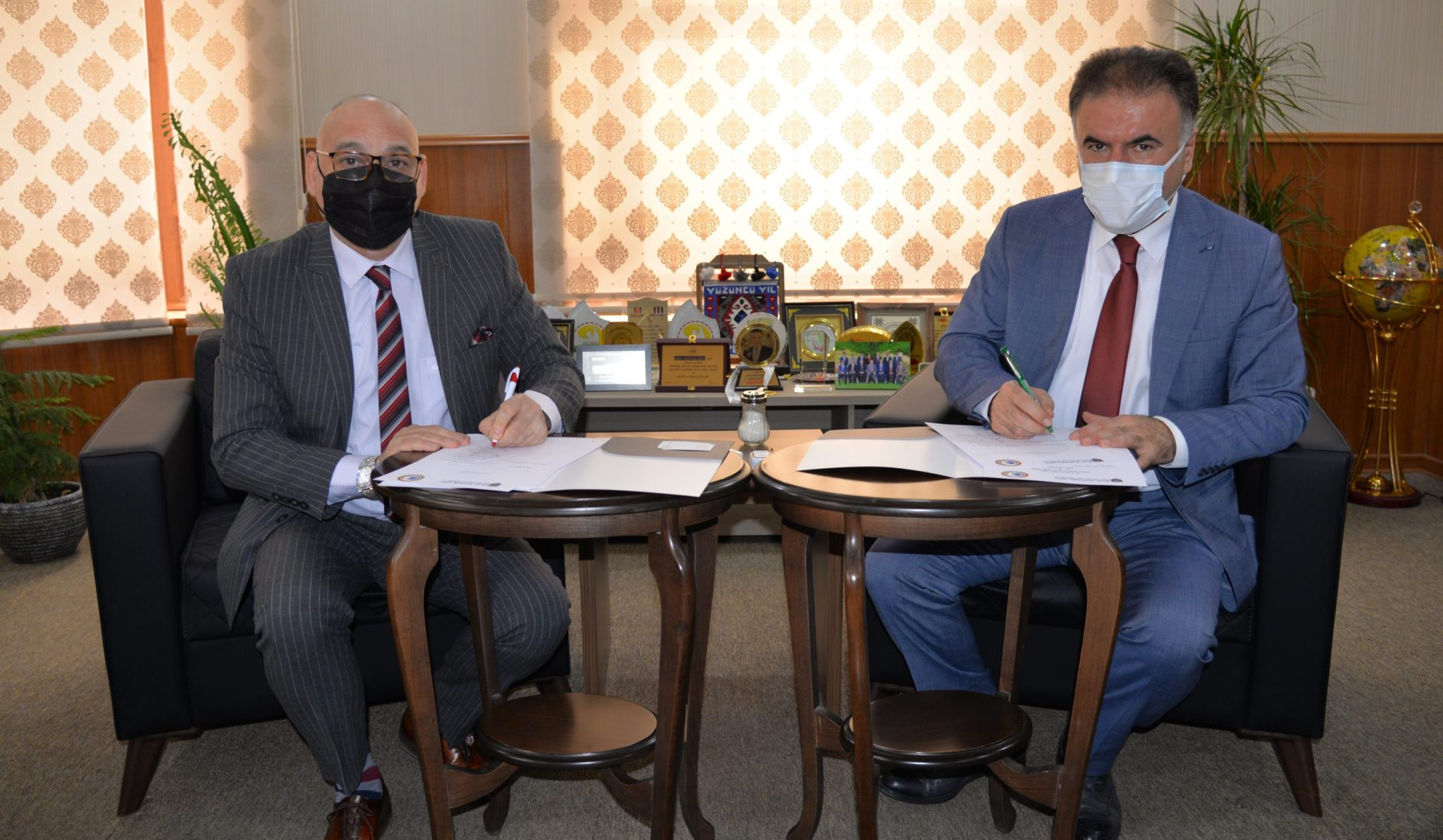 Erbil Polytechnic University And Arab Union For Development And Environment Signed A Memorandum Of Understanding
