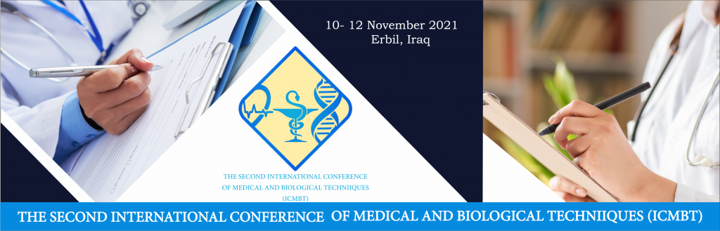 """THE 2nd INTERNATIONAL CONFERENCE OF MEDICAL AND BIOLOGICAL TECHNIQUES """"ICMBT"""""""