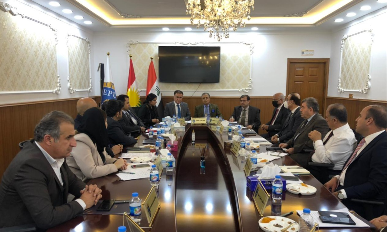 The Council of the Erbil Polytechnic University held its regular meeting