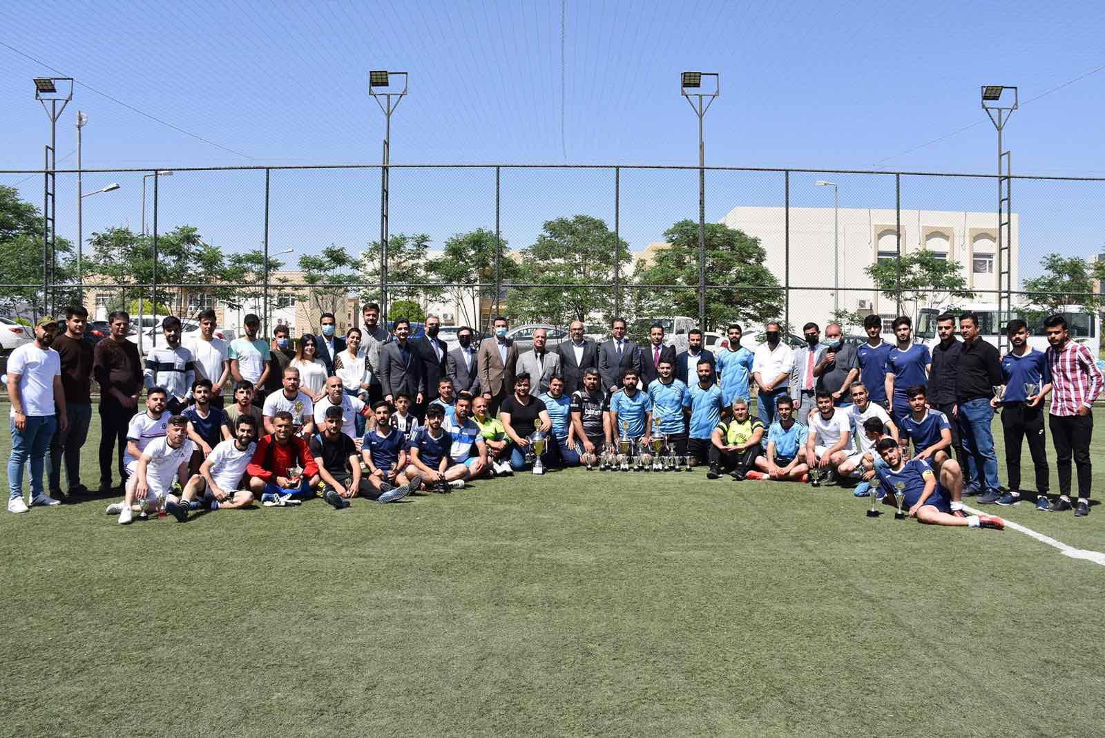 Erbil Polytechnic University Finalized The Two Leagues of the Football