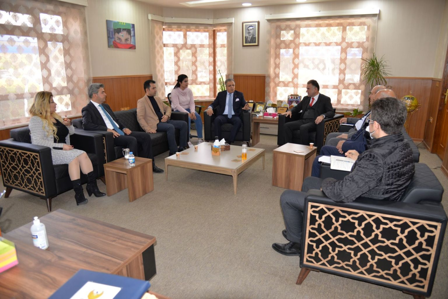 The Rector Of The EPU Receives The President Of The International University Council (IUC)