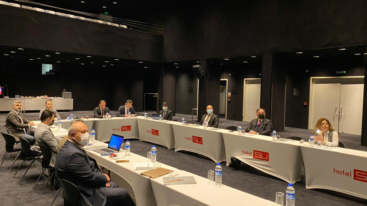 Erbil Polytechnic University In Collaboration with The International Universities Committee Conduct A workshop In Antalya Regarding The Implementation Of Bologna Process and ECTS System
