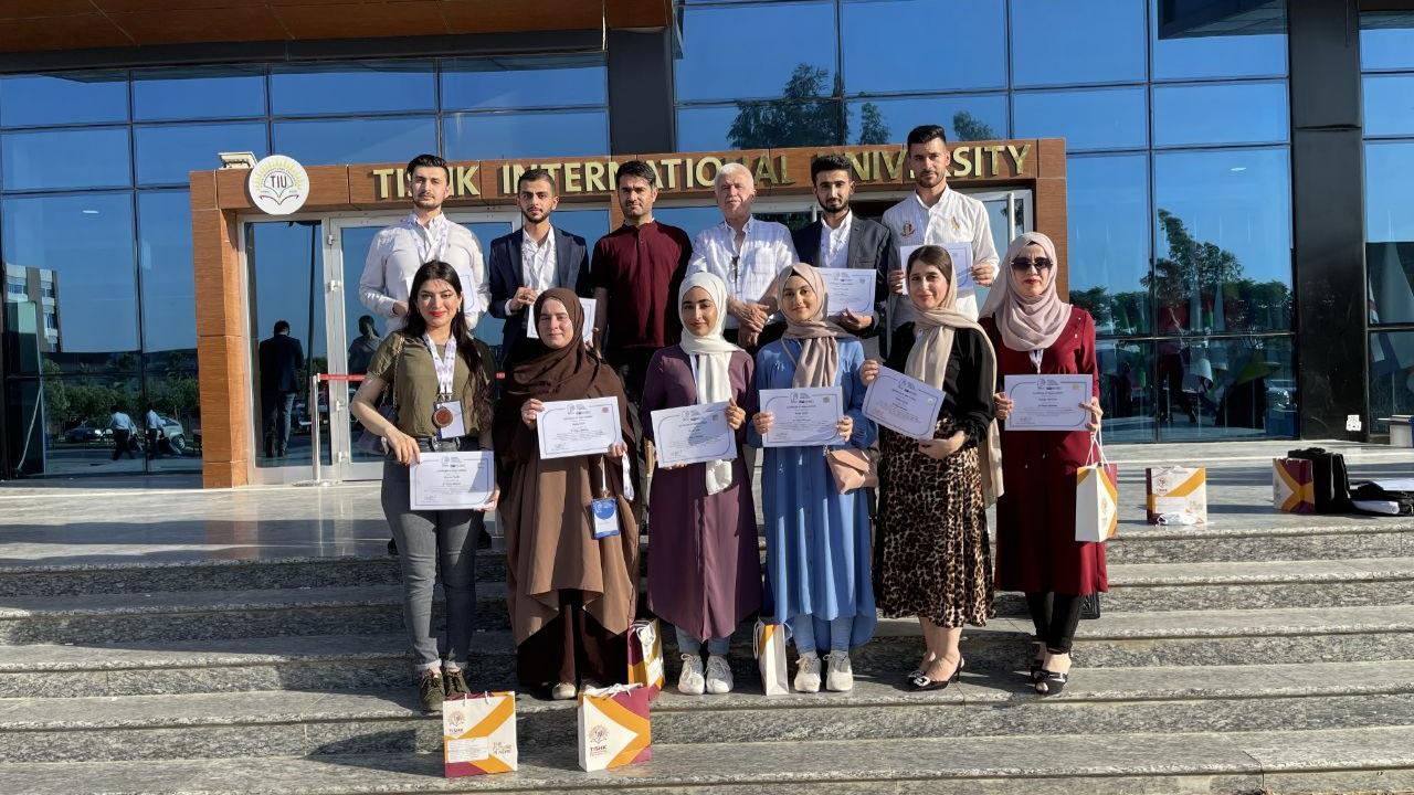 The Students Of The Erbil Polytechnic University Record A Great Success Against Tishk International University