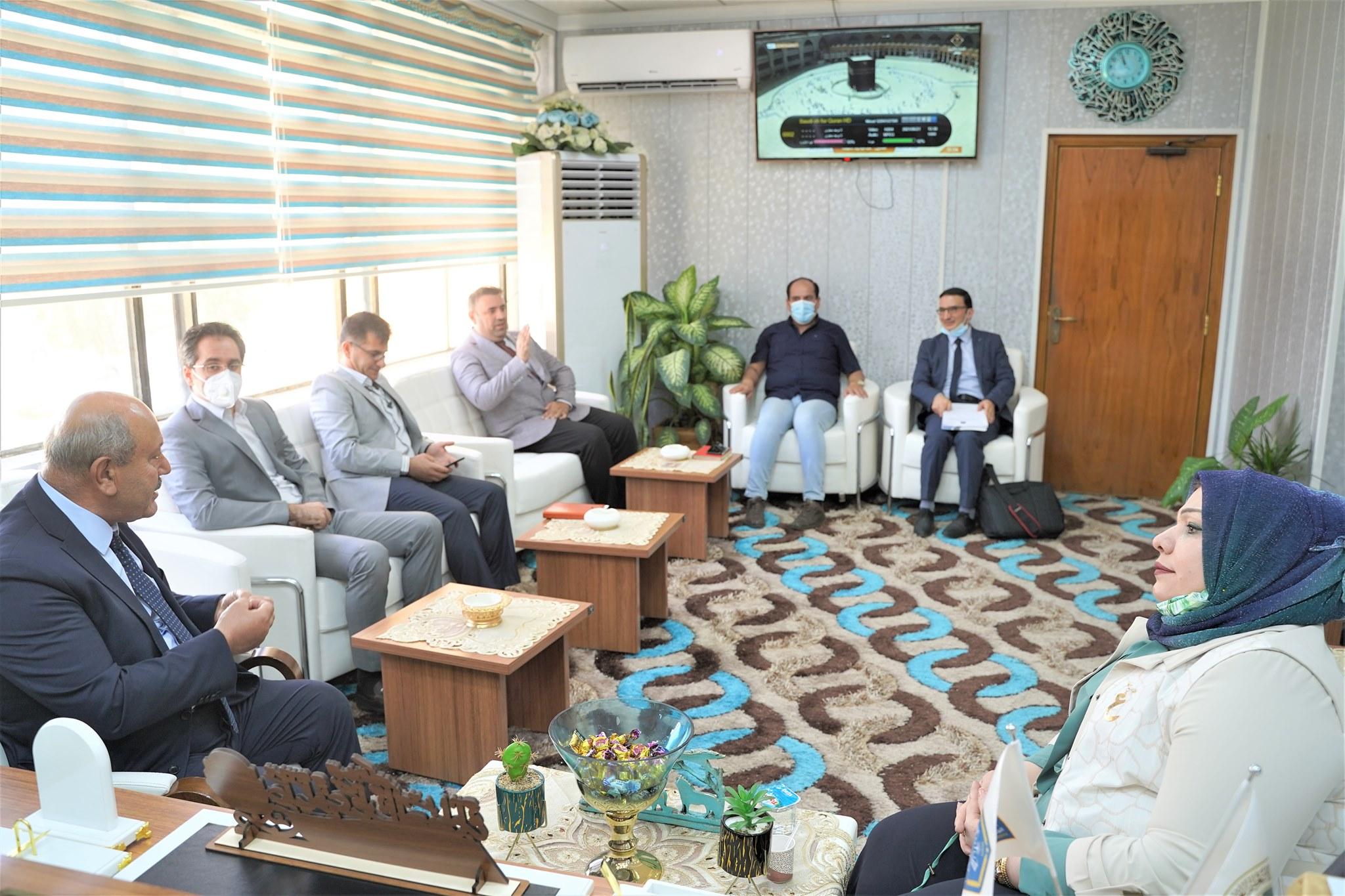A Delegation Of The Erbil Polytechnic University Visited Northern Technical University