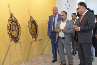 Erbil Polytechnic University Opened An Art Gallery For The Artist Kivan Barzani