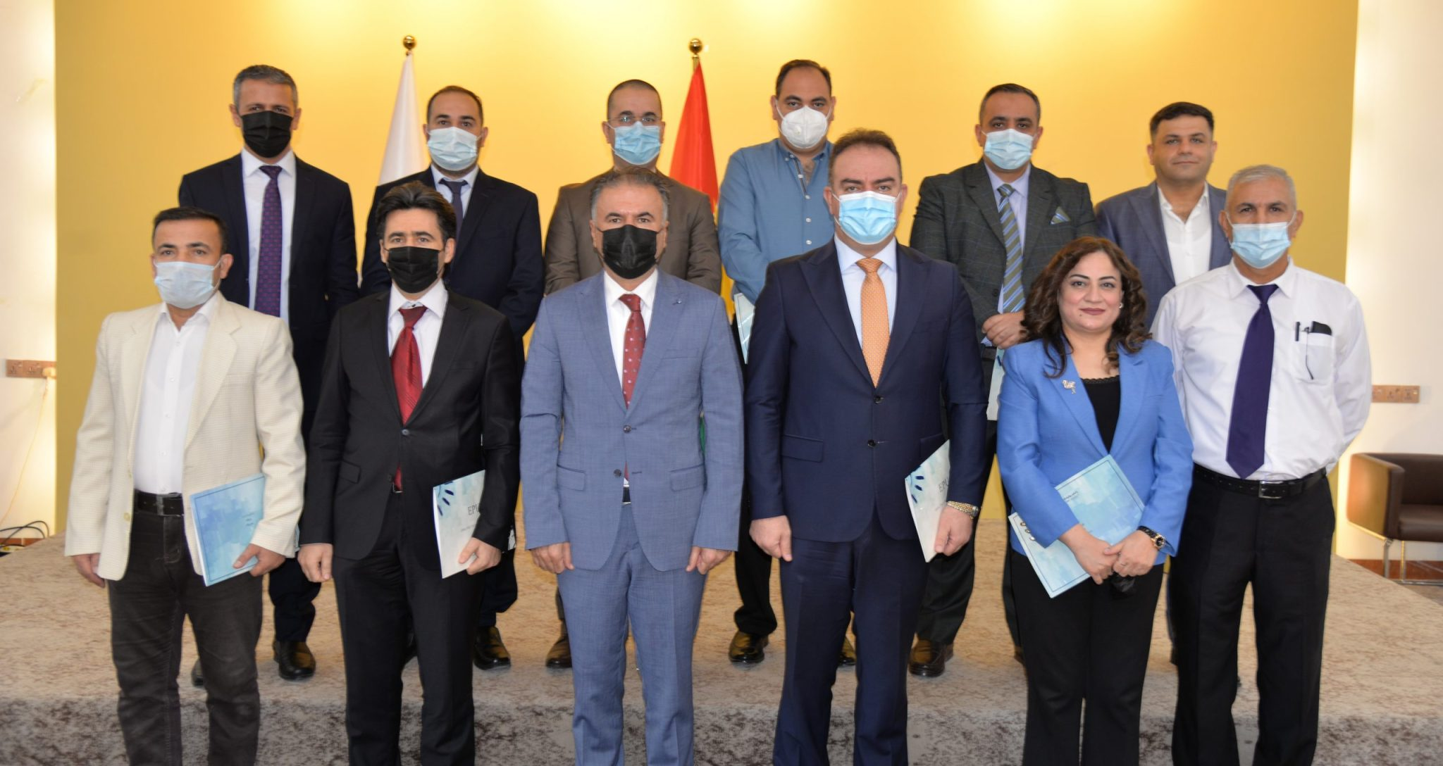 The Rector of the Erbil Polytechnic University Rewarded Honorary Certificates to the Top Instructors of the Quality Assurance