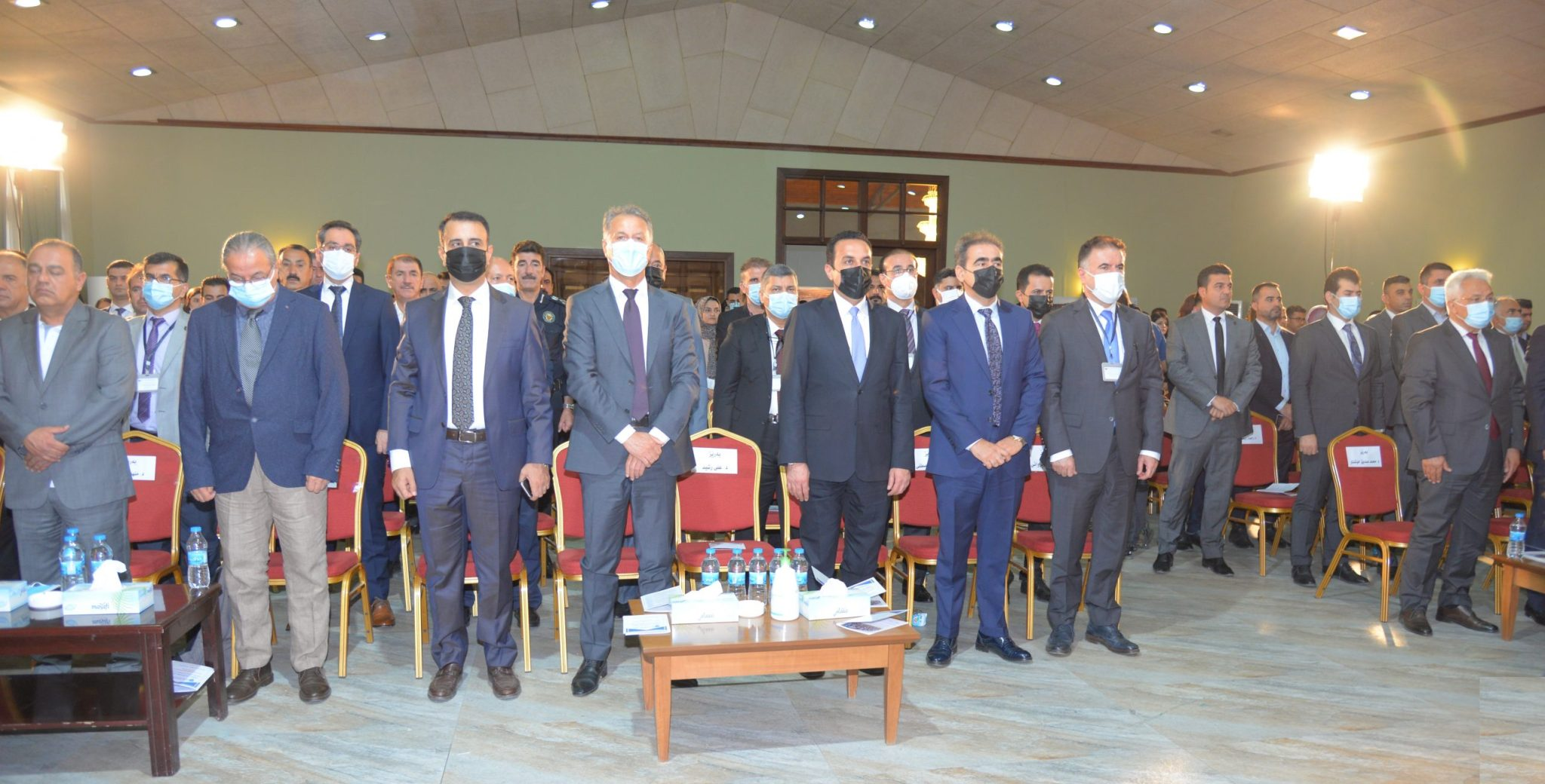 Second Scientific Students conference of the Erbil Polytechnic University has started its Work