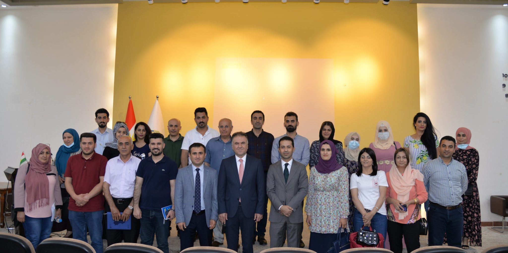 Erbil Polytechnic University Conducted The Second Training Course about The Electronic System of Management (ERP)