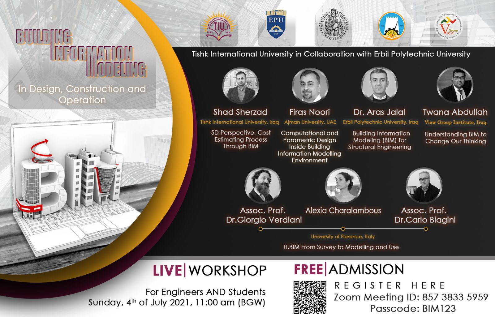 Erbil Polytechnic University In Collaboration With TISHK International University Will Deliver A Workshop