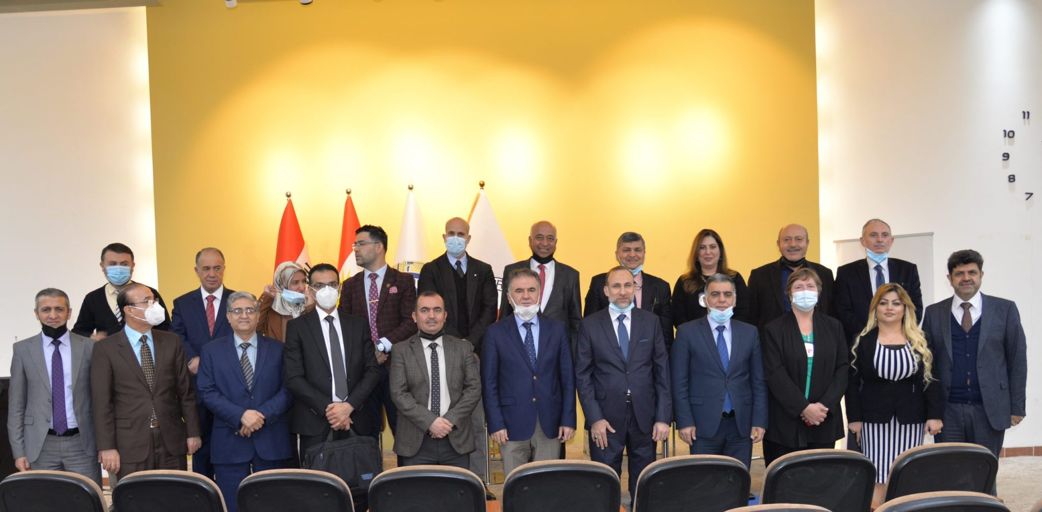 The Presidency Of The Erbil Polytechnic University… Celebration Of Signing Opening Project Of The First Orthotics And Prosthetics Scientific Department
