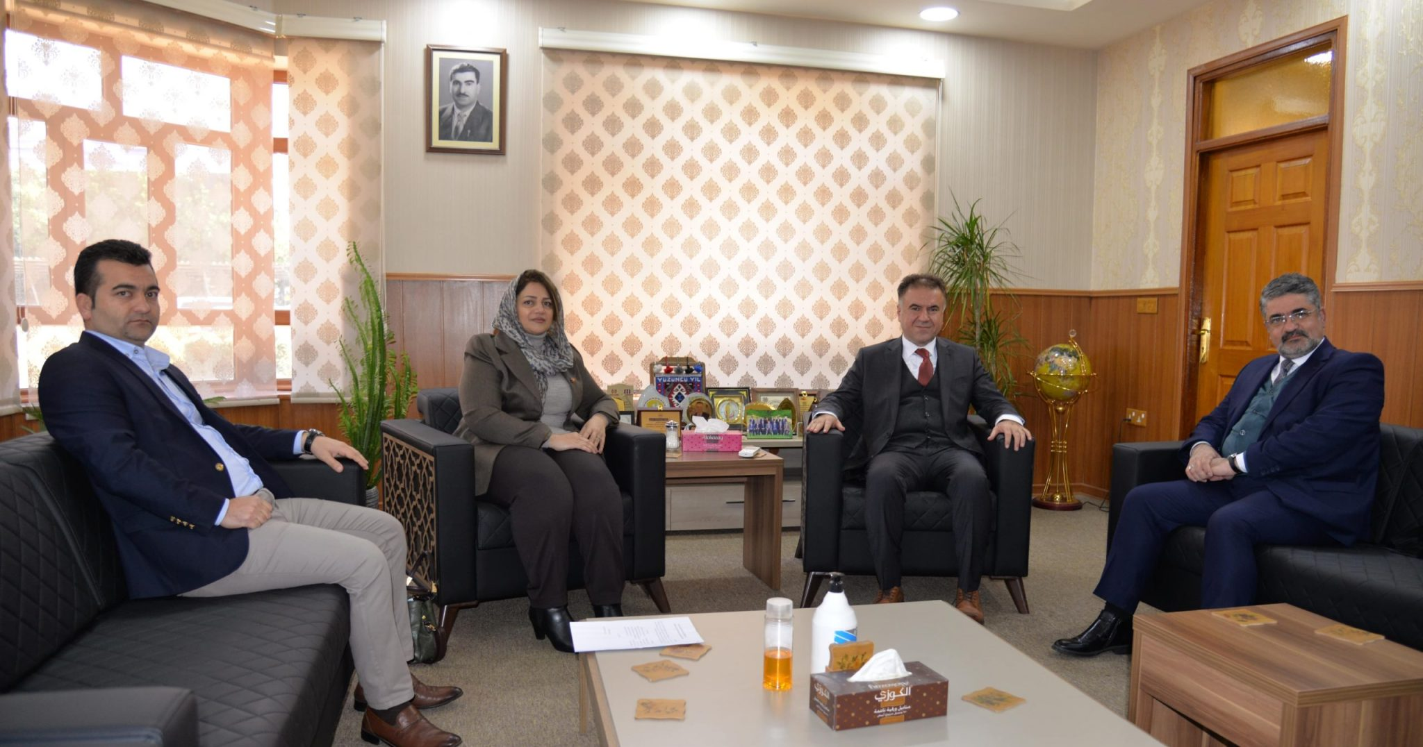 The Rector of the University Received the Higher Education and Education Committee of the Parliament