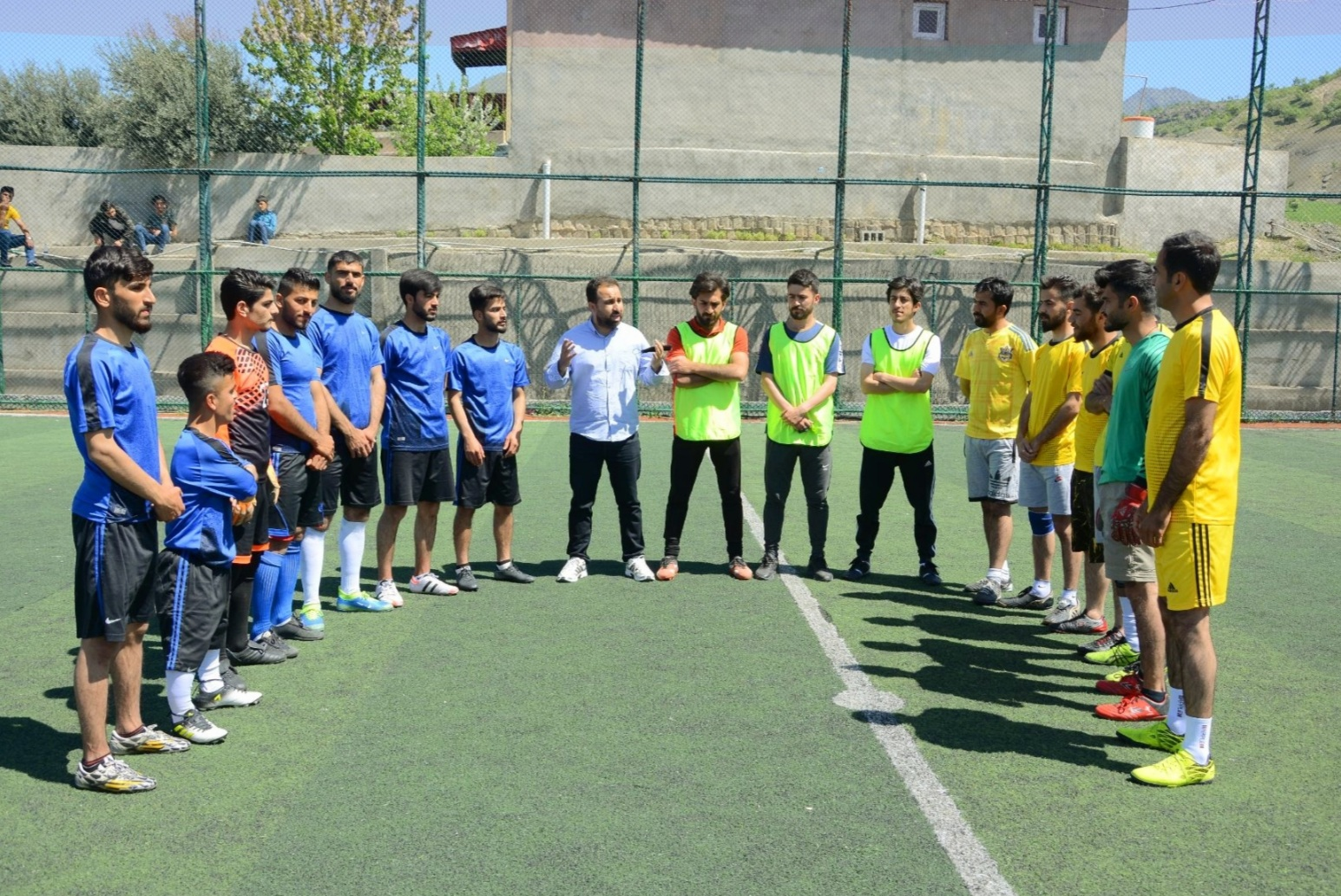 Erbil Polytechnic University fulfilled the Football League of Soran Technical Institute Students