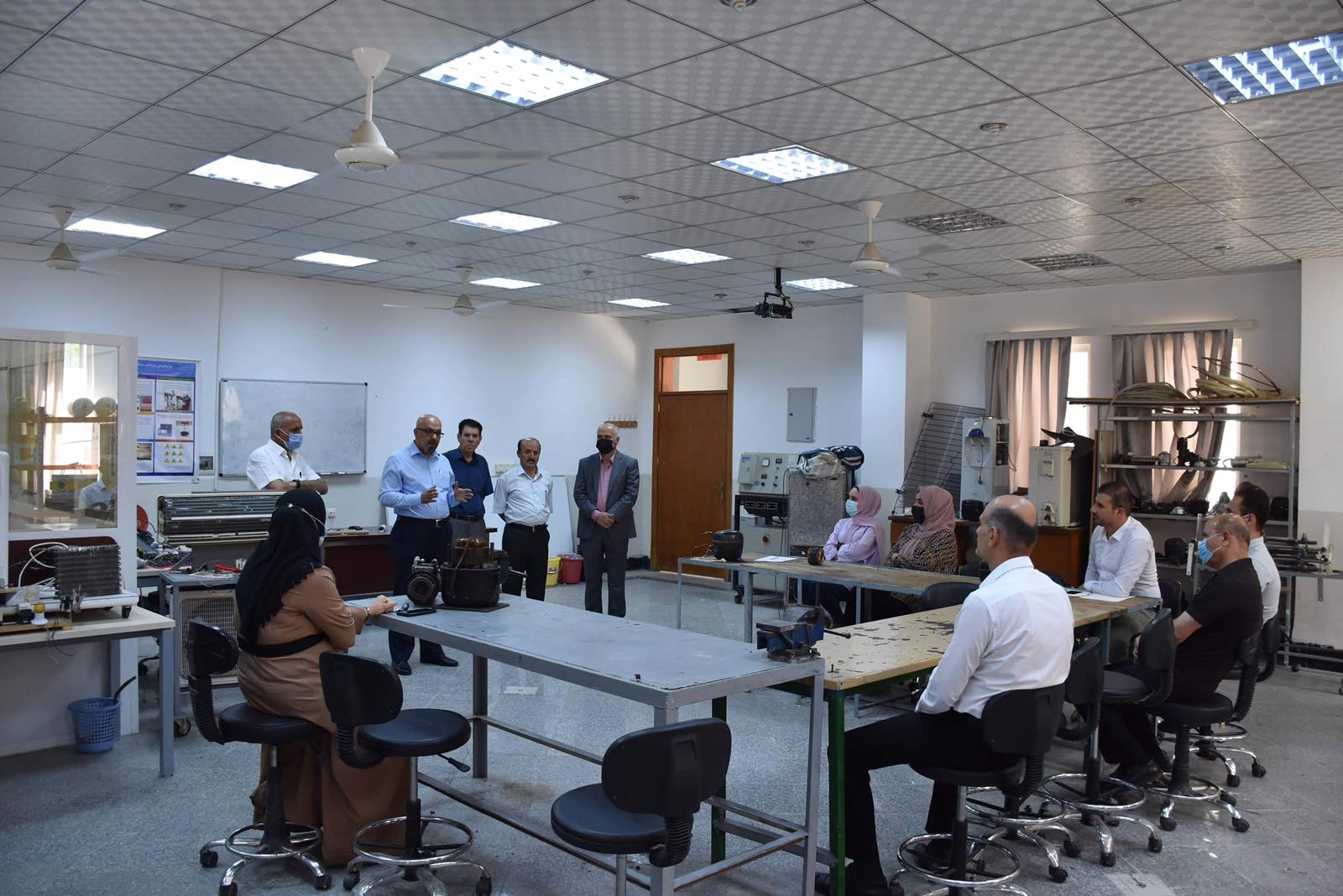 Erbil Technology College Opens A training Course ForThe Technical Staff