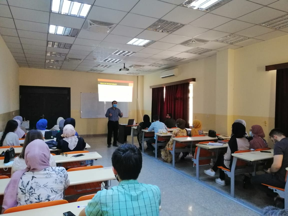 The physiotherapy Department In Erbil Technical Health College Conducted A Training Course