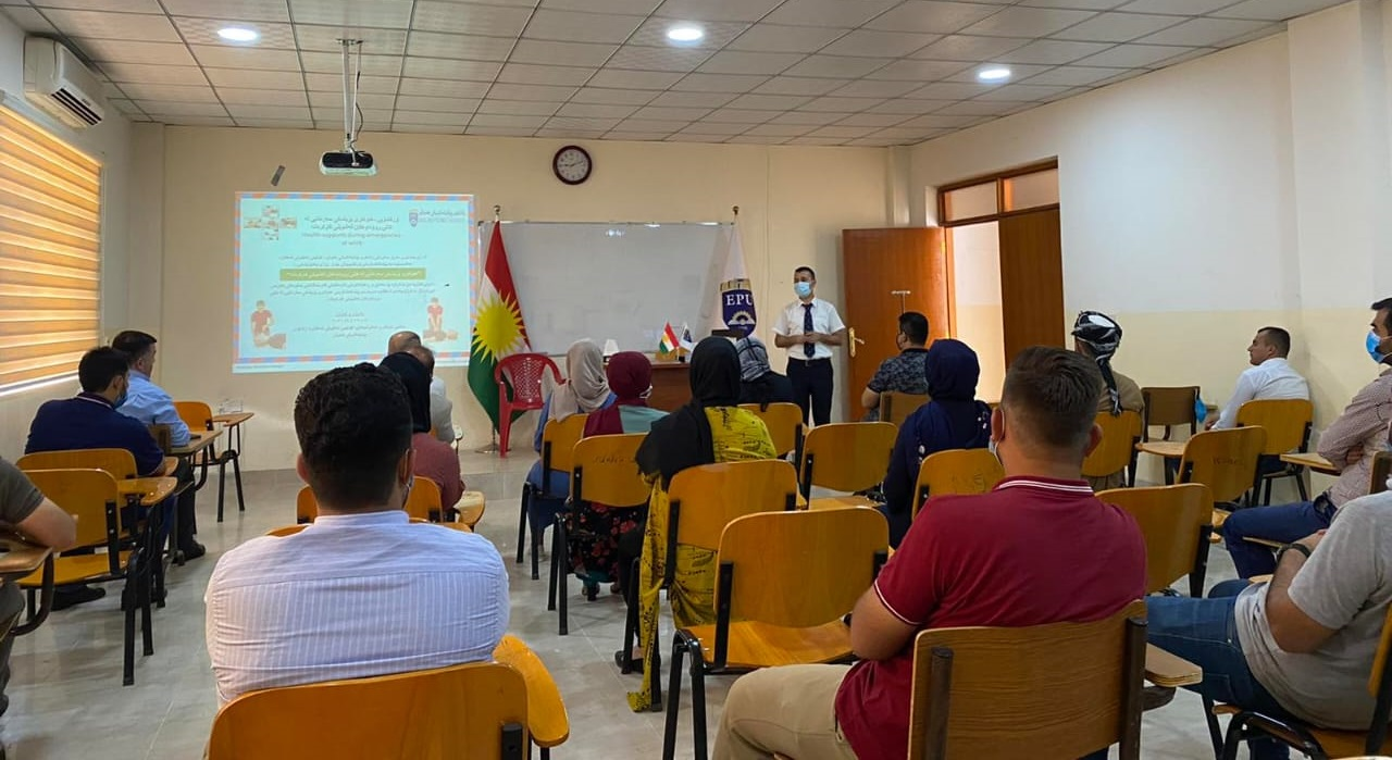 Shaqlawa Technical College Opened First Aid Training Course