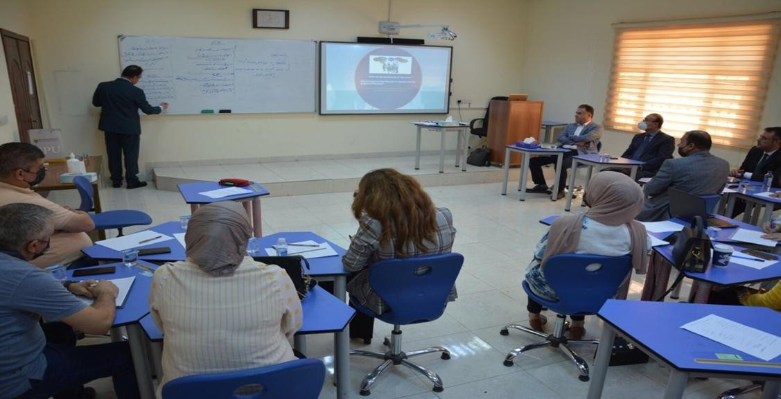 Erbil Technical Administration College presentsA Workshop For Business Administration Department lecturers