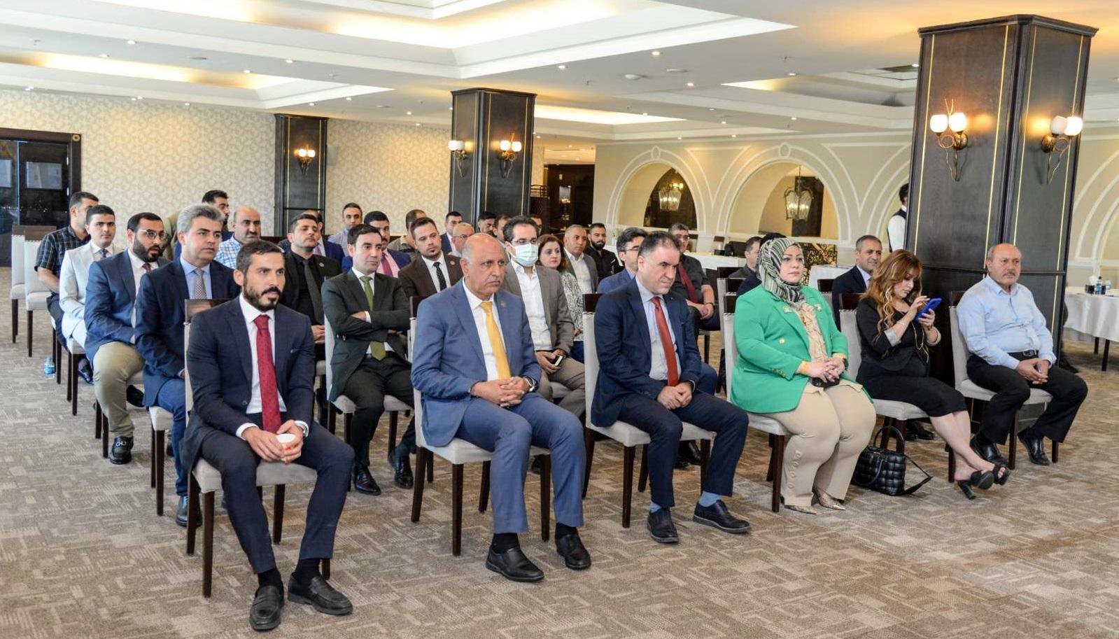 Erbil Polytechnic University and SPARK International University Presented A Training Course