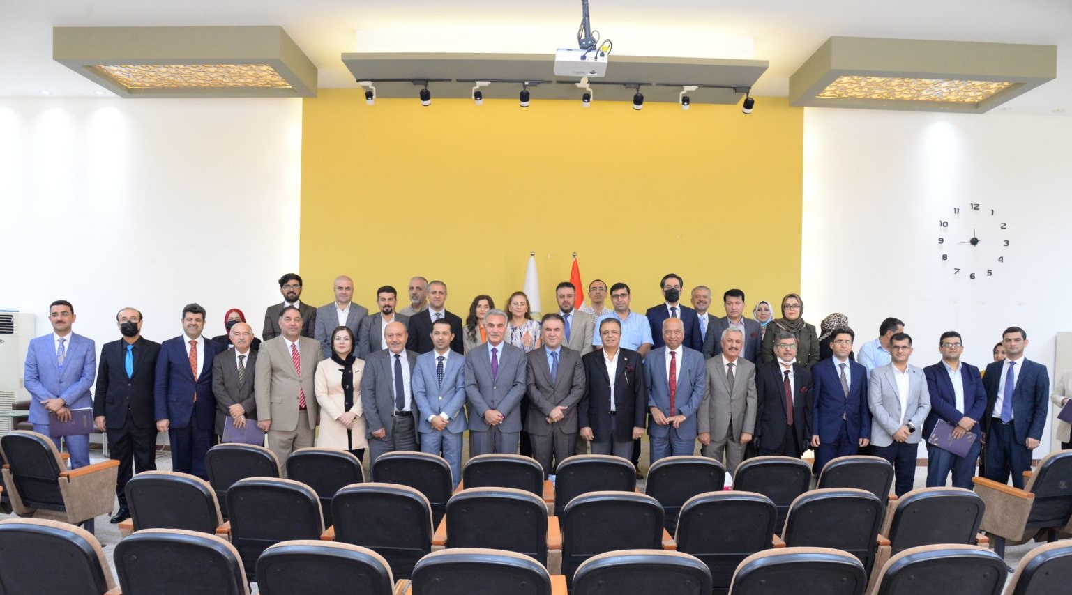 The Rector Of The University Awards Honorary Certification To The Top One Quality Assurance Process Lecturers