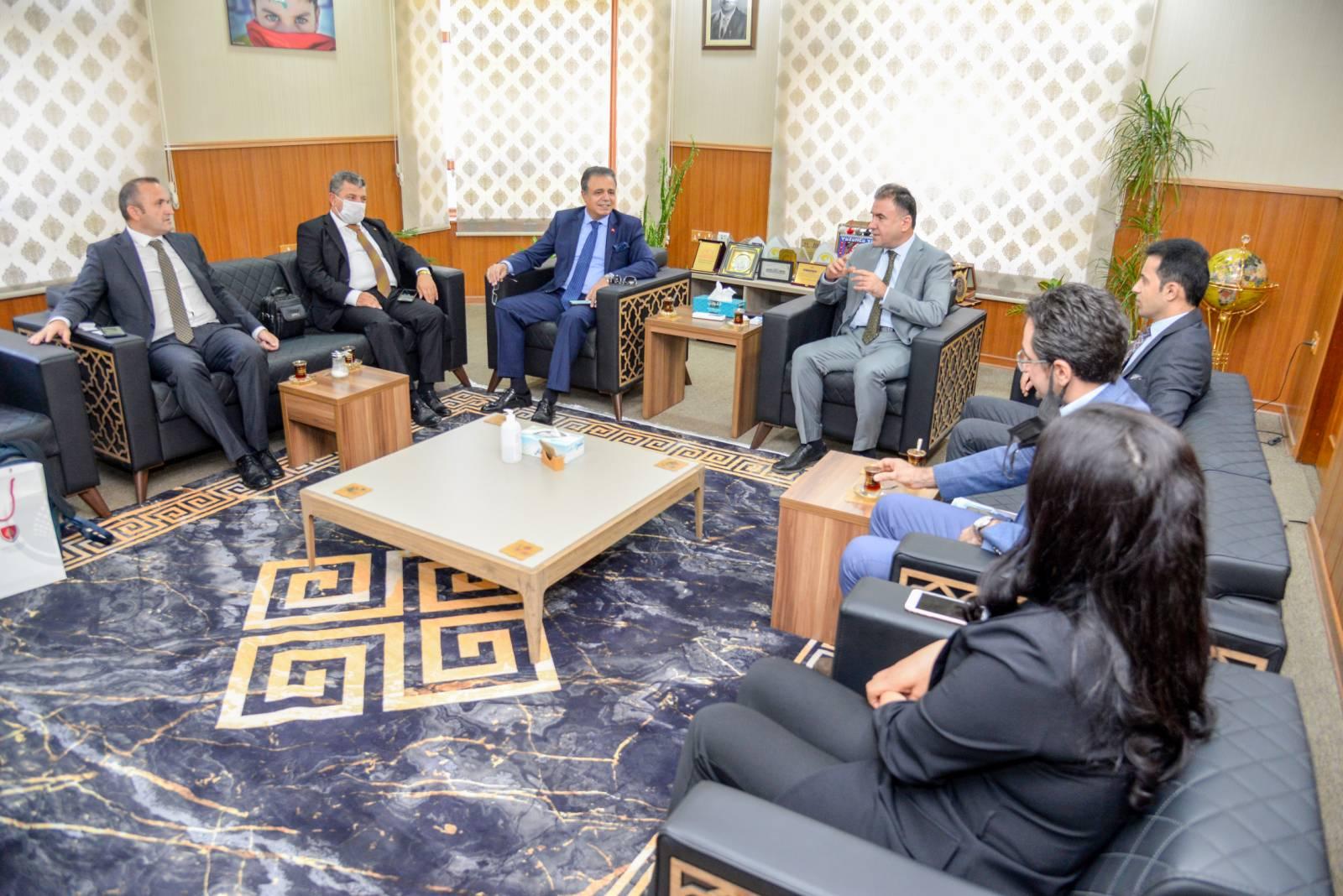 Presidency Of The EPU Receives International Universities Committee (IUC)